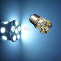 Free shipping 50pcs/lot Car Light  BA15S 5050 13 SMD  LED White 1156 BA15S 1141 3497 Bulbs Turn Signal Tail Light bulb