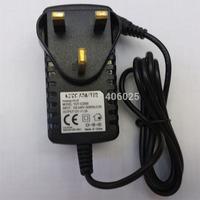 Free shipping DC12V 2A UK Power Supply DC12V 2000mA UK Standard Power Adapter for CCTV Cameras