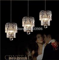 New Best-selling LED crystal droplight sitting room of balcony crystal droplight creative  K9 crystal lamp Christmas Lights 54cm