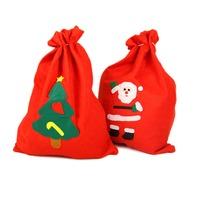 12PCS/Lot 20cmX30cm Christmas Gifts Bag Promotional Gifts Bags Santa Claus 2014 Hot Cheap Christmas Tree Decoration Ornaments