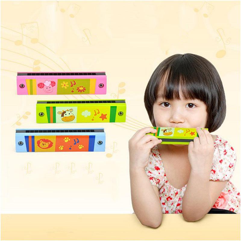 Детский музыкальный инструмент OEM #61116 Wooden Harmonica Children детский музыкальный инструмент умка волшебный микрофон b1082812 r6 252751