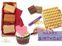 Free Shipping Fondant Cake Make Any Message Letter Press Set Cake Decoration Figure Biscuit mould DIY Mould Stamp Tools