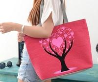 WOMEN CANVAS BAGS MESSAGE HANDBAGS TOTE BAGS  DESIGUAL 2014 Fashion Desigual  tote Handbag Shoulder Bags  HOT SALE HB01