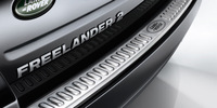 Freelander 2,2006+,Rear Bumper Protector/ Tread Plate,Auto Trunk Trims,External,Free Shipping