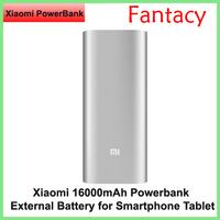 Original xiaomi Power Bank 16000mAh Portable Charger Powerbank External Battery Pack Charger for xiaomi iphone Samsung HTC