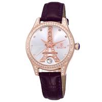 SKONE Brand Watch Fashion Women Casual  Eiffel Tower Watch Women Leather Strap Water Resistant Watches