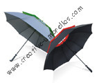 Free shipping by sea,double layers.14mm fiberglass shaft and  ribs,golf umbrella,windproof,anti-static,ventilation,double layers