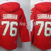 2010 Olympic P.K. Subban Hockey Hoodies Montreal Canadiens #76 PK Subban Men Ice Hockey Hoodies Jersey Subban Hockey Hooded