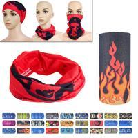 Fashion Polyester Sport Outdoor Cycling Biker Head Scarf Magic Turban Neck Veil Headband HOT
