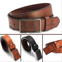 Best-selling 1Pcs Strap Luxury Leather Belt Successful Business Men's Casual Buckle Belts For Men Fashion Men Belts ej673059
