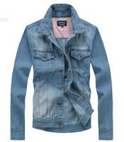 hot sale free shipping fashion casual men slim denim jackets