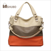 SHUBO Fashion New Brand Bags Women Messenger Bag PU Leather Chain Potrable Shoulder Handbags Tote Crossbody Bolsas SH151