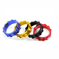 Bicycle / Mountain Bike / color aluminum alloy washer CNC pad ring gasket 10mm