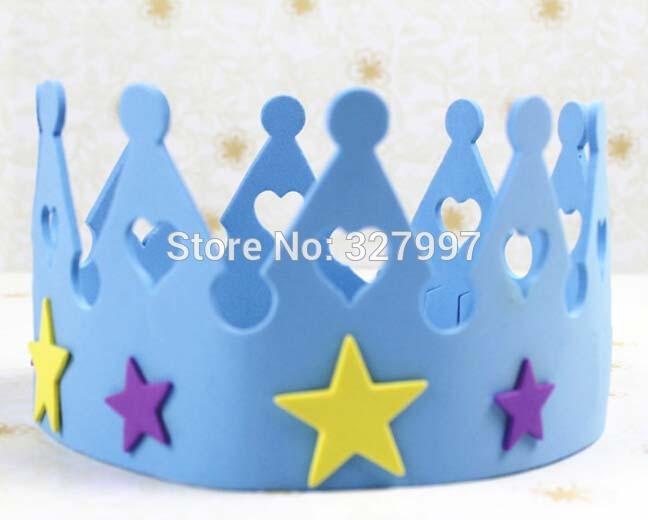 Articulos De Decoracion Por Mayor ~  partido de los ni?os de espuma estrella sombrero crown decoraciones