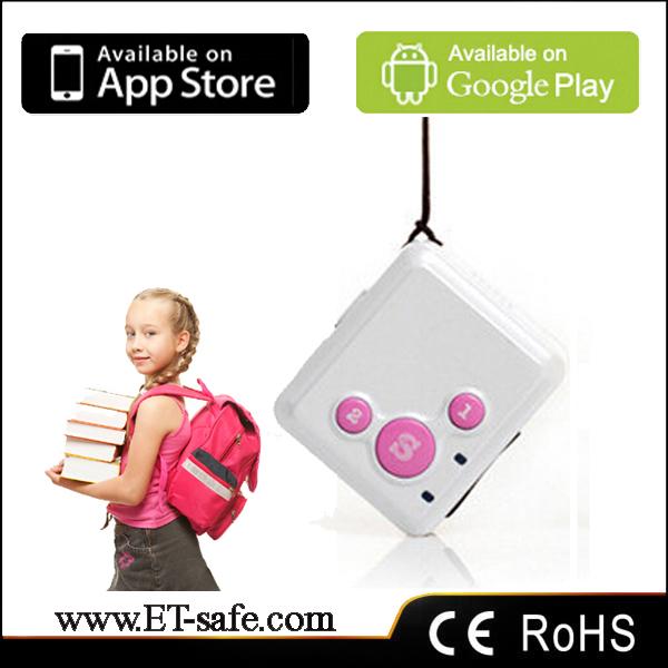 Free shipping mini gps tracking chip smar children gps tracker,sos panic button gps gprs tracking device(China (Mainland))