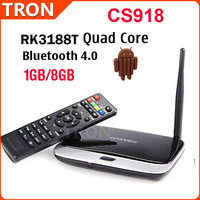 CS918 RK3188T Quad Qore Android TV BOX Mini PC Smart TV 1G RAM 8G ROM Bluetooth External Wifi Antenna