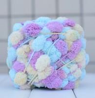 Blanket cushion sofa cushion wool yarn knitting Pearl ball of wool thread to knit net thread Knitting shag line Knitting shag