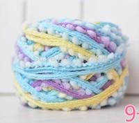 Fancy scarves line wool yarn knitting ing-Pong Yar fishing thread to knit net thread Knitting shag line Knitting shag line