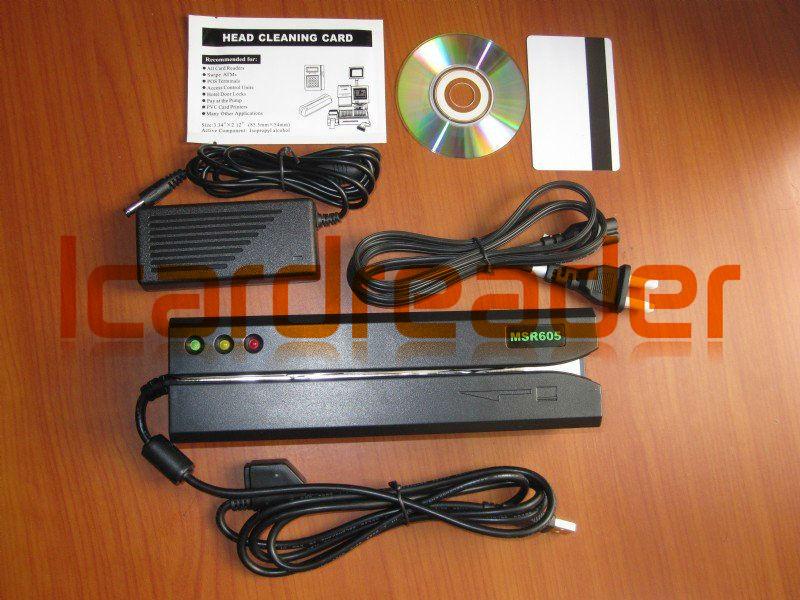 MSRv007 MSRv 010 MSR605 Magnetic Stripe Readers Card Device MSR605 Magnetic Strip CardReader Writer(China (Mainland))