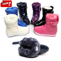 High Quality Kid snow boots boy girl boots waterproof nonskid plush winter warm shoes kids shoes christmas gift 2014 new fashion