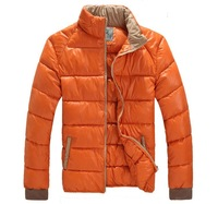 2014 Winter new men thick jacket coat cotton padded man plus size jackets man casual warm clothing have XXXL 4XL 5XL