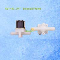 SV-H41 1/4inch Plastic Solenoid Valve Pressurized 12V DC Actuator of Hall Flow Sensor Always OFF