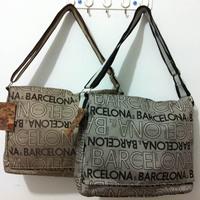 man Fashion casual bag general brief cloth messenger  Lovers bag