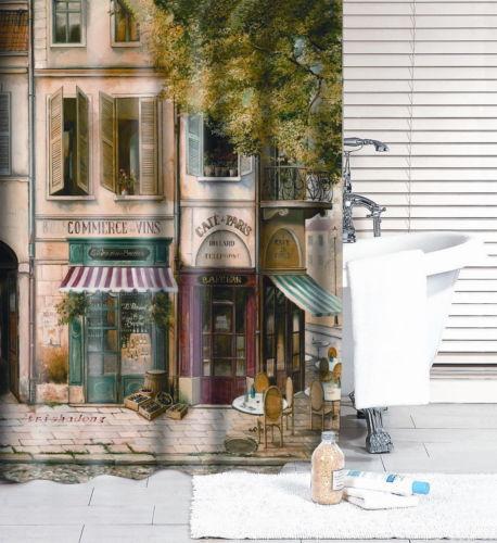 Cortinas De Baño Londres:baño cortina de ducha europea de londres estilo cafetería cortina de