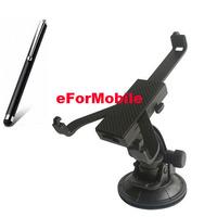 Mobile Phone Holder Universal Tablet Holder Tablet Stand Rotary Holder Car Holder + Tablet Pen For Samsung Galaxy P6200 Plus 7.0