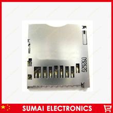 10pcs/lot SD Card Socket Adapter Automatic Push/Push SD Memory card holder tray