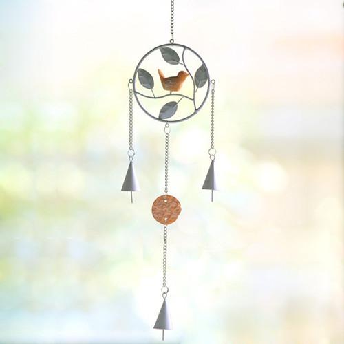 New Dream Catcher enforcamentos Decor Dreamcatcher acessórios Wind Chime ZAKKA aves de resina ferro forjado de vento sinos presente de aniversário(China (Mainland))