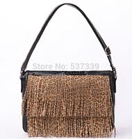 Spanish    Madden leopard tassel handbag fashion leisure Satchel