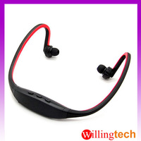 Sports Stereo Wireless Bluetooth 3.0 Headset Earphone Headphone for iPhone 6 5 4 Galaxy S4 S3 HTC LG Smartphone RED