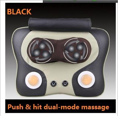 Multifunctional heating massage pillow,neck and waist back massage cushion(China (Mainland))