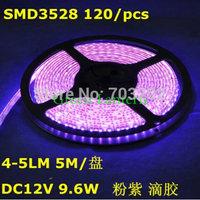 12v 48w cheap led light strip, 5m smd 3528 flexible 120 led strip