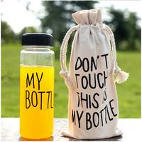 """New Design 1Pcs Water Bottle,Bottle With Words""""My bottle"""" ,Plastic Sports Water Bottle Bike Garrafa Water Bottle pa672839"""
