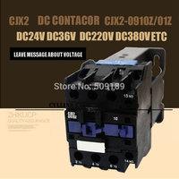 DC Operated AC Contactor LP1 CJX2-0910Z CJX2(LP1)    Operated AC Contactor DC220V DC110V DC24V
