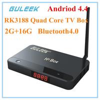 H5 XBMC IPTV Android 4.2 Smart TV Box Quad Core RK3188 2GB RAM 16GB HDMI AV Lan WIFI Mic Digital Display