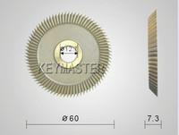 60x12.7x7.3mm Key Cutting Cutter Blade Use For Key Machine Disk