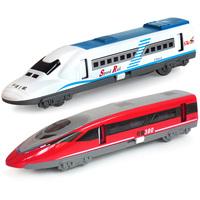Alloy car models railcar model of the ferrate alloy toy train model