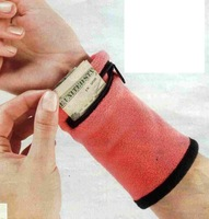 1pc/lot Outdoor Running Cycling Wrist Band Wallet Safe Storage Wallet Zipper Wrist Ankle Wrap Sport Strap pa870783