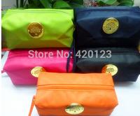2014 autumn British style designer mulbe waterproof cosmetic bag handbags women purse