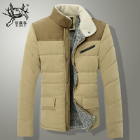 New 2014 Mans Coats Snow Winter Brand Men Wadded Outdoors and Parka Down Jacket Chaqueta Invierno Hombre Face Manteau Homme A024