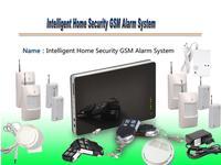 Freeshipping 1set/lot Large Smart Phone Wireless Wired Burglar GSM Home Security Alarm System with PIR Door Sensor Siren G1BK