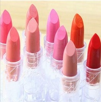Hot Sales Long lasting lip gloss waterproof lipstick 14 color lipgloss lip stick red color cerise star Drop Cosmetic free ship