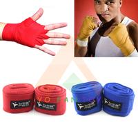 Hot Sale 2pcs/lot FED 2.5m 3.5m Boxing Bandage Perfect 100% Cotton Boxglove Fist Sanda Muaythai Bandage Hand Wrap Strap