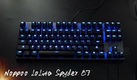 Mechanical Gaming Keyboard NOPPOO lolita Spyder 87 Layout USB Kailh MX Blue Black Red Brown Switches