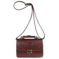 New2014 women leather handbag fashion vintage carved women's handbag box portable bag one shouler bag casual women messenger bag