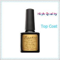 Nail Gel Top Coat Top it off for UV Gel Polish Best on Aliexpress 7.3ml
