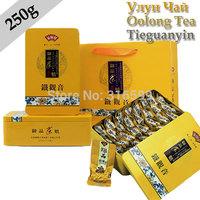Tea Oolong Tea 250g Fujian Tieguanyin Chinese Tea Vacuum Bags Gift Package Tin Box Weight Loss Food Wholesale UT043